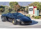 2015 Black McLaren 650S