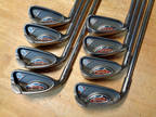 Left Hand PING G10 4-PW, UW IRONS IRON Set G 10 LH Steel AWT