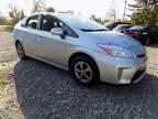 2013 Toyota Prius 4D Hatchback Silver,