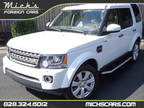 2015 WHITE ON TAN THIRD ROW NAV THREE MOONROOFS LOADED MUST SEE Land Rover LR4