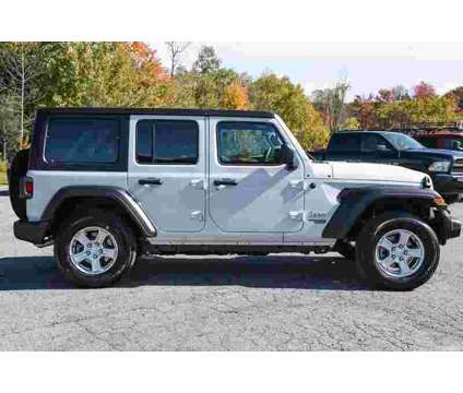 2020 Jeep Wrangler Unlimited Sport S is a White 2020 Jeep Wrangler Unlimited SUV in Granville NY
