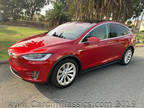 2016 Red Multi-Coat Tesla Model X