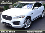 2017 GLACIER WHITE WITH BLACK PANO ROOF NAV CAMERAS SUPERCHARGED LOADED Jaguar