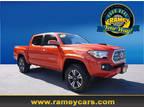 2017 Toyota Tacoma Orange, 36K miles