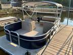 2017 Manitou 20' Aurora LE Pontoon Boats Suzuki 9.9 EFI