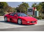 1992 Red Ferrari 348