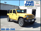 2020 Jeep Wrangler Unlimited Yellow, 17 miles