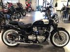 2019 Triumph Bonneville Speedmaster Fusion White and Motorcycle for Sale