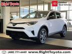 2017 Toyota RAV4 White, 32K miles