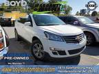 2017 Chevrolet Traverse White, 36K miles