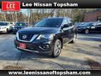 2020 Nissan Pathfinder Black