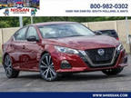 2020 Nissan Altima Red