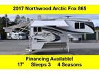 2017 Northwood Arctic Fox Campers 865 Wet 17ft