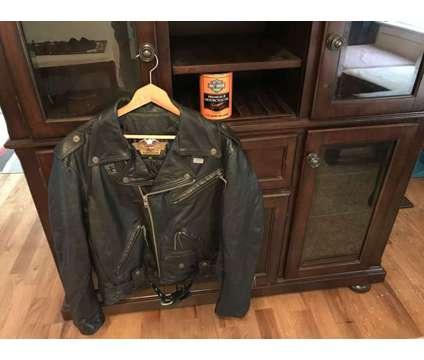 Harley Davidson jacket is a Black Coats, Parkas & Wind Breakers for Sale in Danville VA