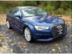 2016 Audi A3 Blue, 9K miles