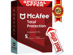 Mc Afee Total Protection 2019 10 Device 5 Year Antivirus ✅