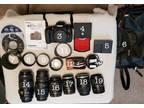 Canon EOS 760D DSLR Camera + Lenses & accessories