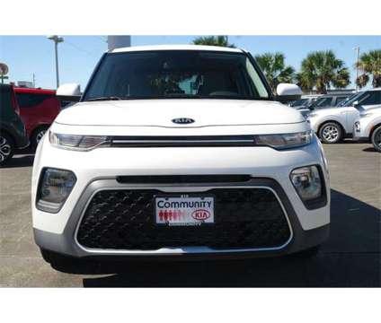2020 Kia Soul LX is a White 2020 Kia Soul sport Station Wagon in Baytown TX