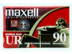 NEW Maxell UR 90 Normal Bias Blank Audio Cassette Tape