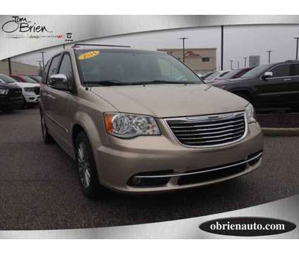 Used 2014 Chrysler Town & Country 4dr Wgn is a Tan 2014 Chrysler town & country Touring-L Car for Sale in Greenwood IN