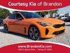 2019 Kia Stinger Orange, new