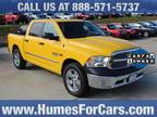 2016 RAM 1500 Yellow, 35K miles