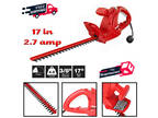 2.7 Amp Electric Hedge Trimmer Compact & Lightweight Outdoor