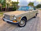 1975 Gold Volvo 164
