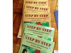 Lot of 14 Kerstin Wartberg Step by Step violin instruction