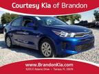 2020 Kia Rio Blue, 13 miles