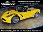 2019 Chevrolet Corvette Yellow, new