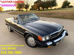 1988 Mercedes-Benz 560 Series 2dr Roadster 560sl Convertible Desert Taupe