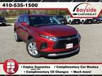 2020 Chevrolet Blazer Red, new