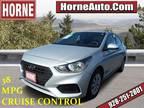 2018 Hyundai Accent Silver, 34K miles