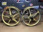 "Old School BMX 20"" Lester Mags Wheels Rims Front Alloy"