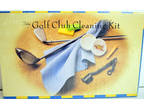 Golf Gifts Golf Club Cleaning Kit 8 Pieces #UC252 Incl