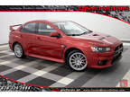 2014 Rally Red Metallic Mitsubishi Lancer Evolution