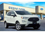2019 Ford Eco Sport White, new