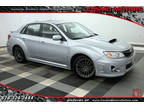 2013 Ice Silver Metallic Subaru Impreza Sedan WRX