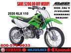 2020 Kawasaki KLX 110 110