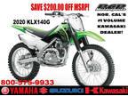 2020 Kawasaki KLX 140G 140G