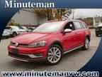 2019 Volkswagen Golf Alltrack Red, 15 miles