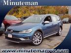 2019 Volkswagen Golf Alltrack Blue, 15 miles