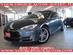 2013 Gray Tesla Model S