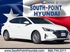 2020 Hyundai Elantra White
