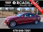 2018 Cadillac ATS Red, 47K miles