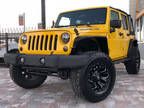 2009 YELLOW Jeep Wrangler Unlimited