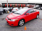 2006 Red Honda Civic Coupe