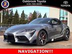 2020 Toyota Supra Gray, 12 miles
