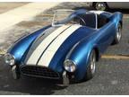 Shelby Cobra 1/2 Scale Junior Car - Gas Engine - Not Go Kart